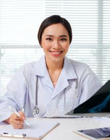 registered nurse smiling